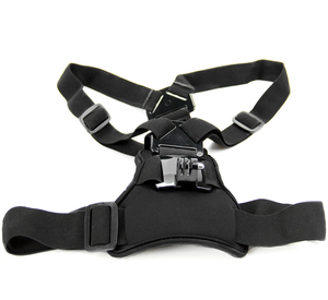 Image 3 - Snowhu para gopro acessórios elástico no peito cinto de montagem cinta gopro hero 9 8 7 6 5 xiaomi yi eken ação câmera gp204