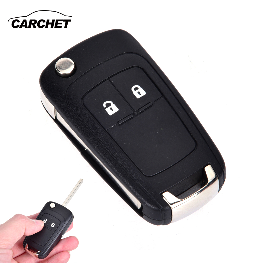 Key Case for Car Flip Remote Key Case Shell for VAUXHALL OPEL Astra Car-Styling Flip Folding Remote 2 Buttons Car Key Fob Shell flip folding remote key shell for bentley car key shell replacement fob key cover key shell replace with logo free shipping