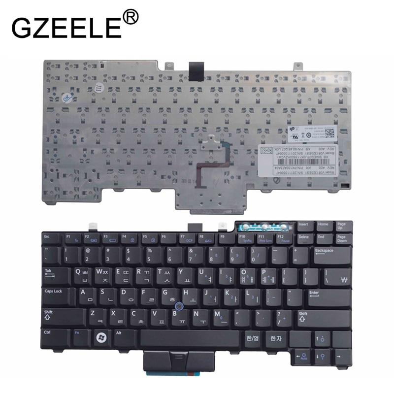 GZEELE NEW KR keyboard for Dell Latitude E6400 E6410 E5500 E5510 E6500 E6510 for Precision M2400 M4400 backlit Korean BLACK gzeele new kr keyboard for dell latitude e6400 e6410 e5500 e5510 e6500 e6510 for precision m2400 m4400 backlit korean black
