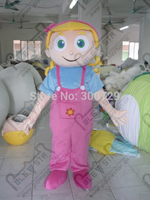 Export High Quality Cartoon MASCOT COSTUMES Newest Design Special Flower Girl Mascot Costumes