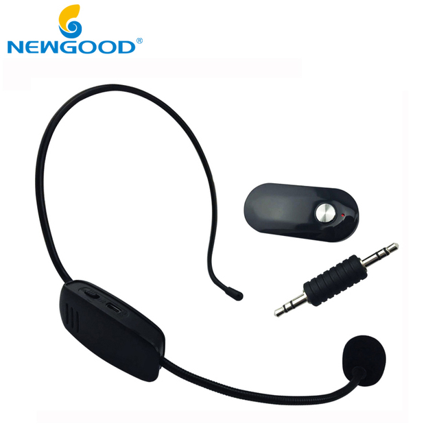 Brand of UHF wireless microphone for teaching guides conference style special microphone mic computer 3.5MM&2in Free Shipping