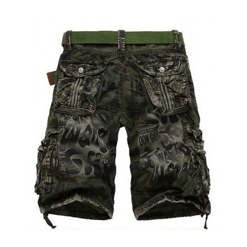 AmberHeard 2019 Mode Männer Shorts Masculino Camouflage Homme Cargo - Herrenbekleidung - Foto 2