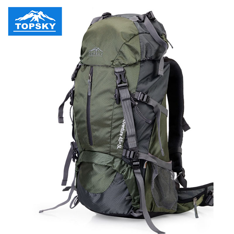 50eee5aa592f Topsky 40L professional climbing bags 60L 50L bag camping and hiking  backpack green 40 liter 50 litre 60 L travel backpacks