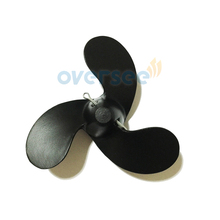 OVERSEE 309 64106 0 Aluminum Propeller 7 4x5 7 For Tohatsu Outboard Engine 2 5HP 3