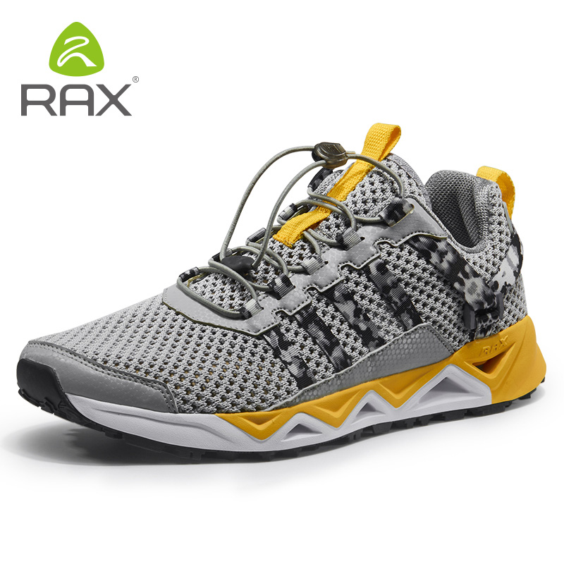 Rax New Mens Breathable Trekking Shoes Hiking Shoes Quick Drying Aqua Water Shoes Outdoor Sports Sneakers Walking Mountain Boots