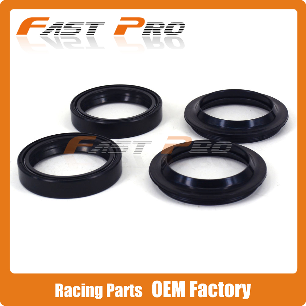Front Shock Absorber Fork Dust Oil Seal For SUZUKI DR250 DR350 DL650 DL650A GSXR750 DL1000 V-Strom VZ1600 Marauder