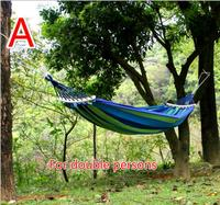Outdoor Double Thickness Canvas Swing Outdoor Camping Hammock
