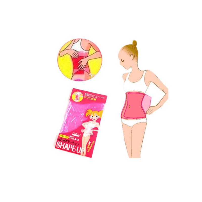 Hot Slimming Belt Tummy Belly Waist Body Shaper Wrap Fat Burner Weight Loss Super-elastic Material bo4B
