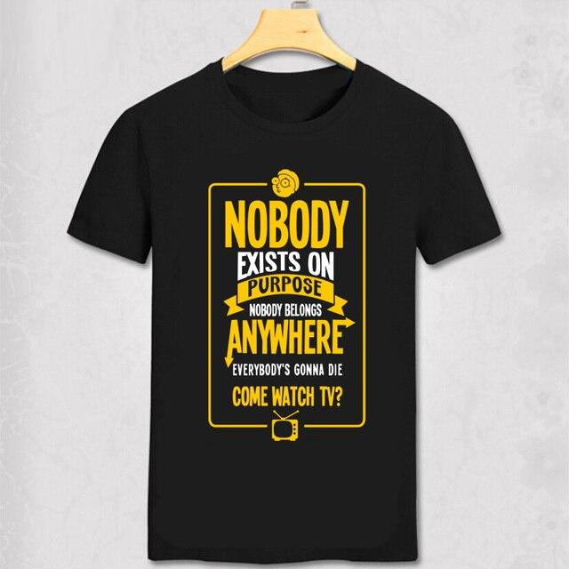 O Envio gratuito de Moda T-Shirt Nirvana Nevermind Teenages Morty e Rick T  camisa 58ad7bbd3d6