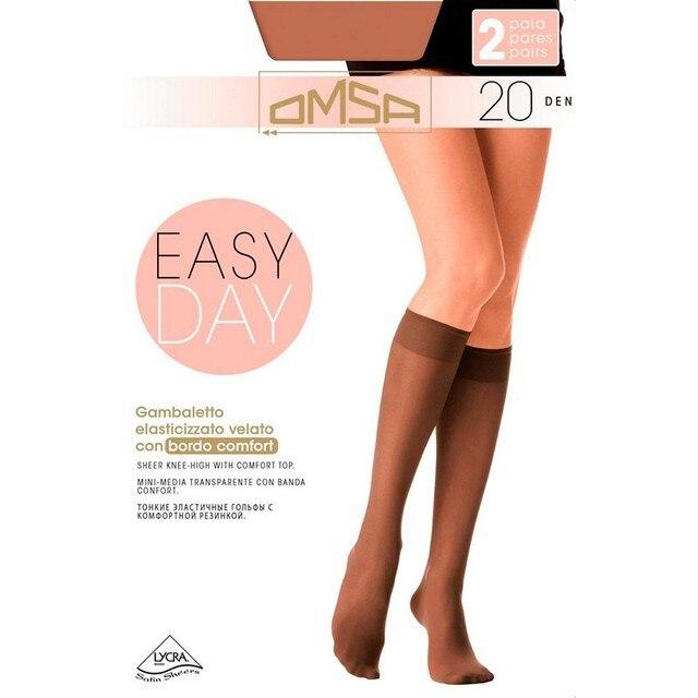 Гольфы женские Omsa GAMB. EASY DAY 20 (2 пары)
