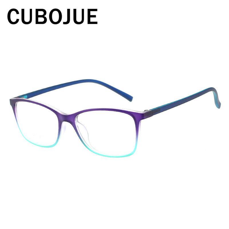 dbc181b5ff2 Vintage TR90 Glasses Men Women Retro Eyeglasses Frames for Man Female Nerd Points  Prescription Spectacles Female Diopter-in Eyewear Frames from Men s ...