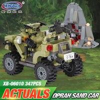 XINGBAO 06010 Genuine 347Pcs Military Series The Oprah Sand Car Set Building Blocks Bricks Toys As