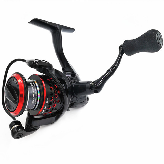 US $72 79 30% OFF|OKUMA Ceymar 5 0:1 gear ratio Spinning Fishing reel coil  8BB Saltwater Fishing wheel Waterproof design Freshwater Reels Coil-in