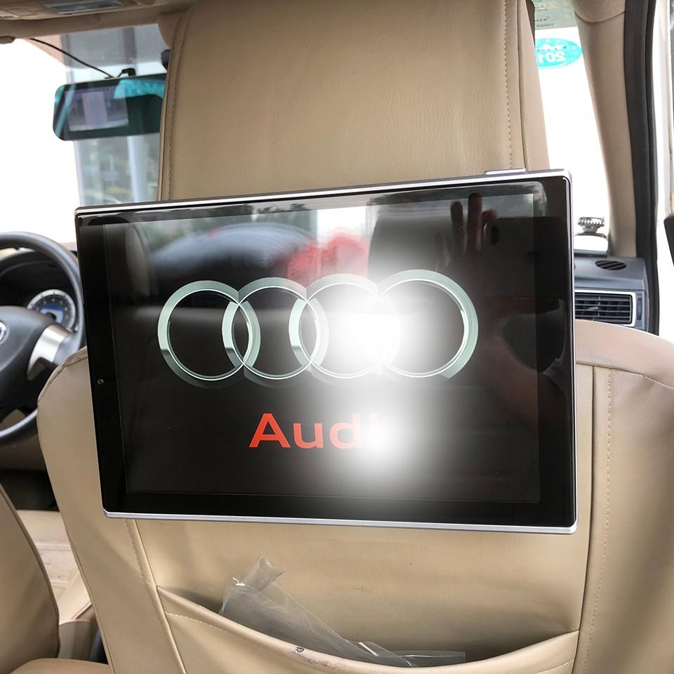 Nuovi Articoli 2018 di Elettronica di Auto Televisione Android Poggiatesta Con Monitor Per Audi Q7 Accessori Auto TV Dello Schermo di 11.8 di pollice 2 pz