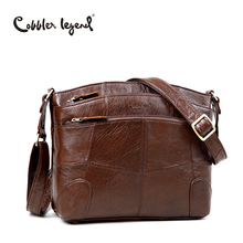 Cobbler Legend Original Brand Women Shoulder Bag Genuine Leather Ladies Crossbody Bags 2017 New Fashion Handbag For Female Bolsa