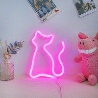 Mode Bunte Regenbogen Led Neon Zeichen Licht Urlaub Xmas Party Hochzeit Dekorationen Kinderzimmer Nacht Lampe Home Wand Decor 11 art-in Neonröhren & Röhren aus Licht & Beleuchtung bei