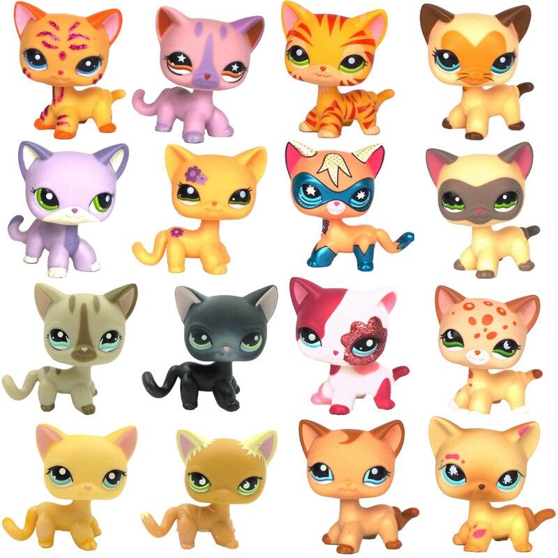 pet shop lps toys Short Hair Cat super mask Pink #2291 #852 #336 black #994 dachshund #556 #640 collie #2210 #great dane #577