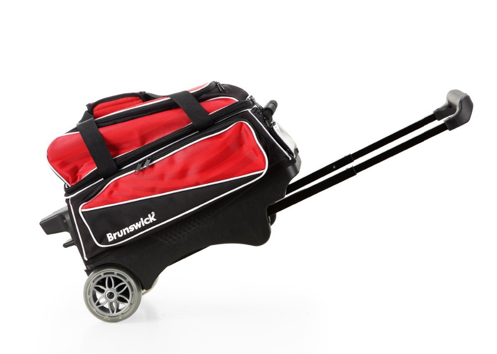 100% quality guarantee 2 Ball Double Roller Bowling Bag with free shipping