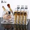 Crystal Acrylic Cosmetic Organizer Makeup Jewelry Lipstick Stand Case Brush Insert Holder Makeup Lipstick Storage Box