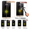 Original Quality 3D Curved Full Coverage Real Tempered Glass Screen Protector  Film For LG G5