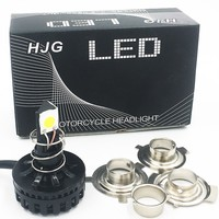 H6 H4 Faro Del Motociclo Led Hi Lo Fascio 6000 K 2000LM Condotto High Low Kit