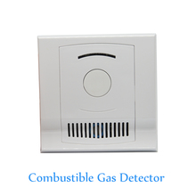 цена на Home security 12V Combustible Gas leak Detector Coal LPG Gas leaking CH4 Natural Gas Fire Alarm Sensor NC NO signal options