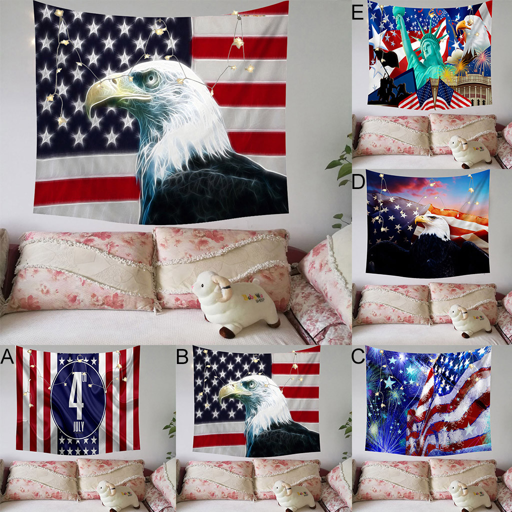 American Flag Wall Art Home Decor, USA Flag Fourth of July Independence Day of National Celebration Tapestry Wall Hanging ArtAmerican Flag Wall Art Home Decor, USA Flag Fourth of July Independence Day of National Celebration Tapestry Wall Hanging Art