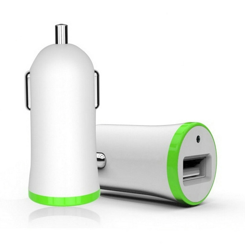 Universal USB Car Charger 2.1A Car Mobile Phone Charger Quick Charging Socket Car Charger Universal Power Adapter Outlet