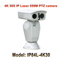 Ultra HD 30x Auto Zoom 4K 8mp marine Farm border ip camera ptz rugged Video Audio PTZ IP 3840x2160 IR 550M Night Vision