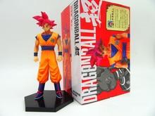 Classic Comic Anime Akira Toriyama Dragon Ball Z Battle of the Gods Red Hair Son Goku 6.5″ Action Figure