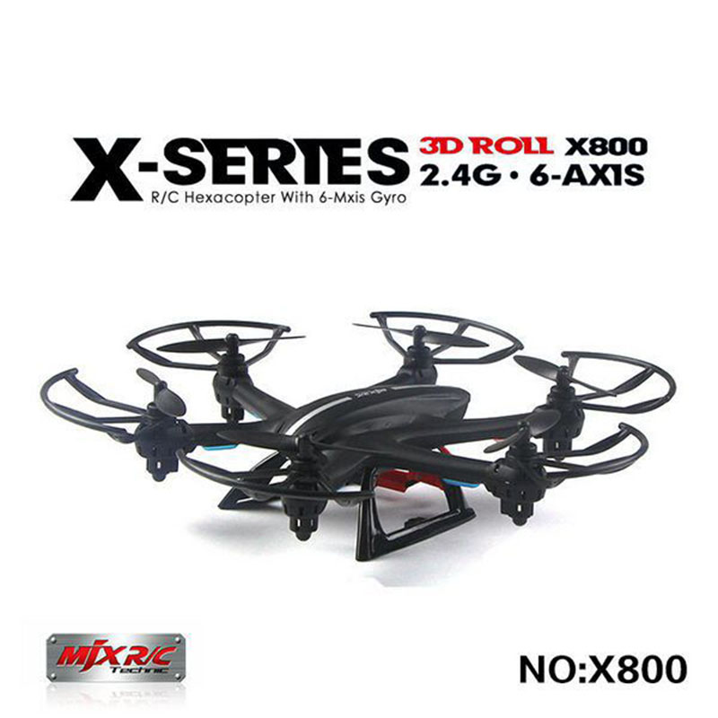 ФОТО New Arrival MJX X800 2.4G 6-Axis RC Helicopter Quadcopter Drone Can Add C4002 & C4005 & C4006( FPV) Camera Upgrade MJX X600 X400