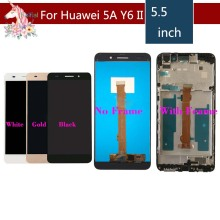 Original For Huawei Honor 5A LCD Display Touch Screen Digitizer Y6II Y6 II Assembly CAM-L23 CAM-L03 CAM-L21 CAM-UL00