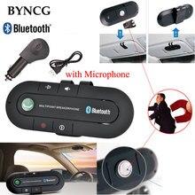 Беспроводная Связь Bluetooth 4.1 Комплект Громкой Связи Бас Стерео A2DP Аудио Музыка Приемник Адаптер Handsfree с Микрофоном для Автомобиля MP3