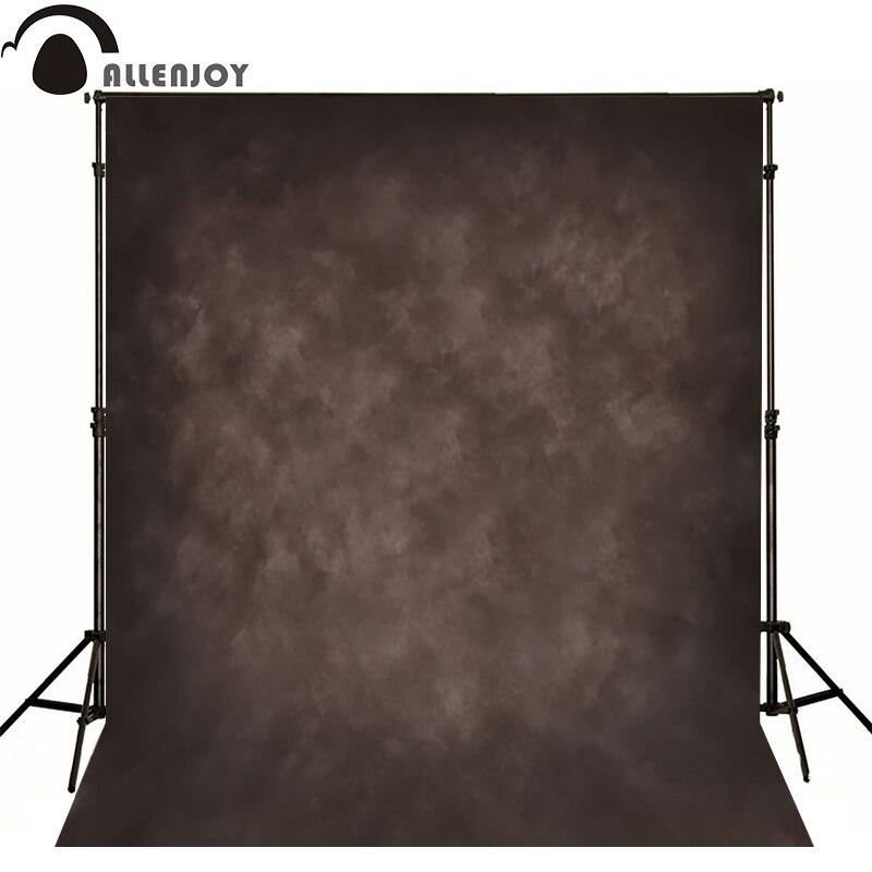 Allenjoy Thin Vinyl cloth photography Backdrop Dark gray Background For Studio Photo Pure Color photocall Wedding MH-044
