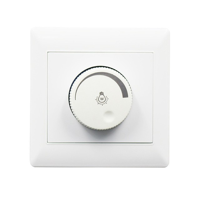 LED Dimmer Switch Brightness  Concealed Installation Dimmers For Adjustable LED Lights Bulbs