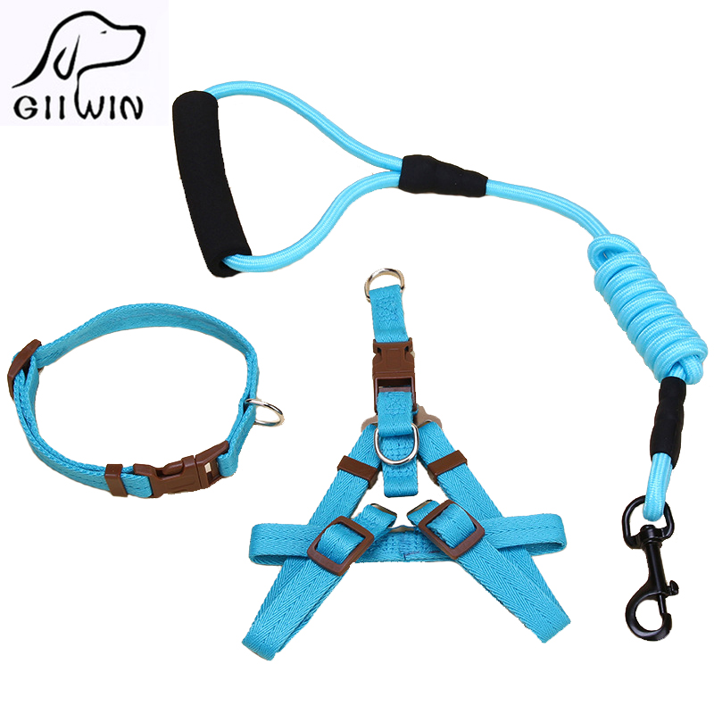 [GIIWIN]Pet Products For Dog Harness Leash Leads Dog-Collar Pet Accessories Puppy Vest Dog Harness Leash For Animals PY0513