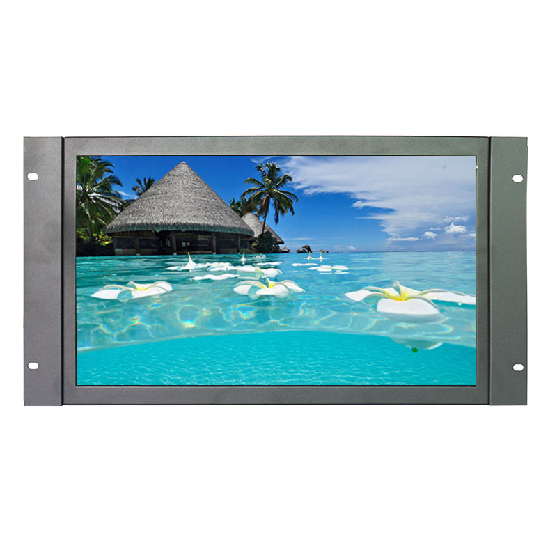 1920*1080 17 Inch 16:9 Wide Resistive Touch Monitor Open Frame Industrial Touch Monitor with AV/BNC/VGA/HDMI Interface