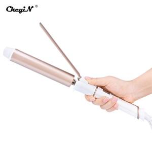 Image 1 - מקצועי שיער Curler קליפ 19mm/25mm/32mm שיער קרלינג ברזל שרביט LED תצוגת שלילי יון קרמיקה גדול תלתלי סטיילינג כלי 32