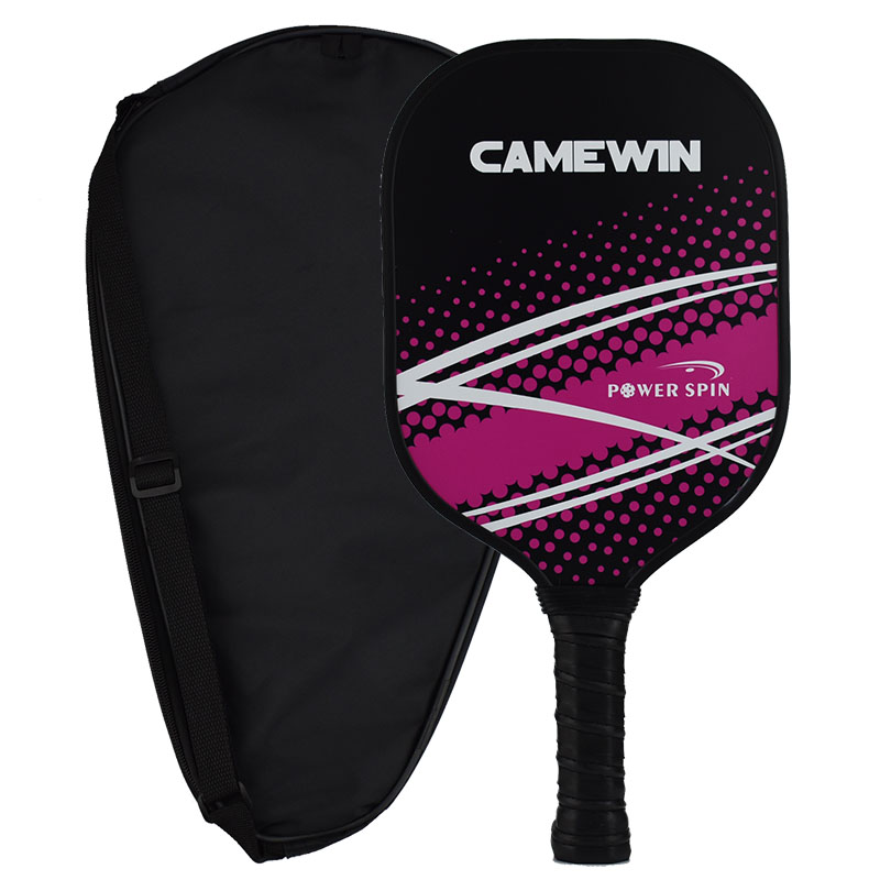 Pickleball Paddle Graphite Face Polymer Honeycomb Core Ultra Cushion Grip Low Profile Edge Guard