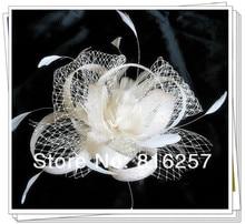 Free shipping 16 color high quality sinamay fasinctor font b hats b font nice bridal hair