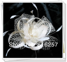 Free shipping 16 color high quality sinamay fasinctor hats,nice bridal hair accessories/party hats/cocktail hats,FS56