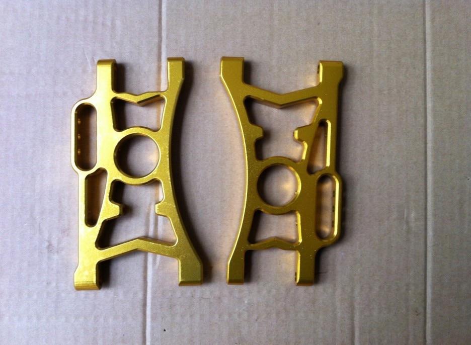 alloy baja Rear lower arm 2pc for baja. gold color хайнер мюллер миссия