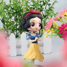 XINDUPLAN Qposket Characters Snow White Big Eyes Cute Anime Action Figure Toys 16cm PVC Kids Collection Model 1002