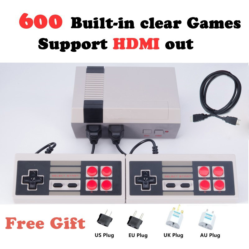 HDMI Output mini Console Family TV Video Game Console Childhood Built-in 600 Games HDMI Out Retro Classic Handheld Game Player