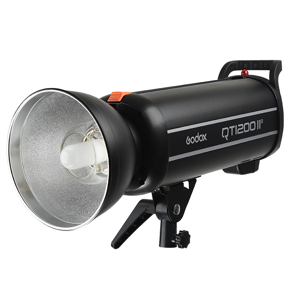 New Godox QT1200II 1200WS GN102 1/8000s High Speed Sync Flash Strobe Light with Built in 2.4G Wirless System new godox qt1200ii qt1200iim 1200ws gn102 1 8000s high speed sync flash strobe light lamp bulb with built in 2 4g wirless system