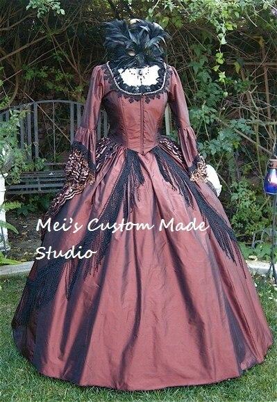 Vestidos de mujer de 1800