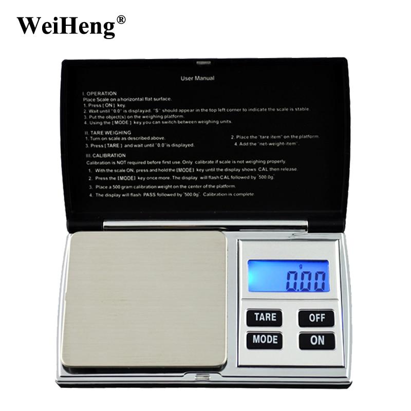 Mini Tragbare 500g x 0,01g Digital Präzision Gewicht Balance Elektronische Taschen Schmuck 0,01 Waage Gold Diamant Gewichtung Skala