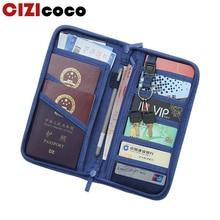 купить Travel Passport Cover Wallet Travel Multifunction Credit Card Package ID Holder Storage Organizer Clutch Money Wallet по цене 523.65 рублей