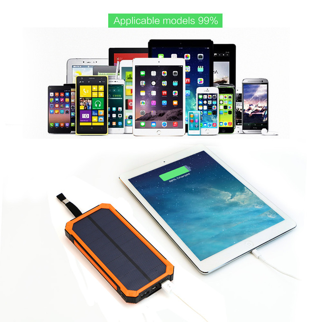 Portable Solar Power Bank for Phones 5