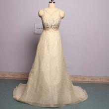 Mingli Tengda Sexy Embroidery Wedding Dresses Crystal